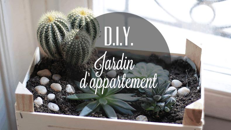 Diy Un Jardin D 39 Appartement Dans Une Cagette. Home U203a Mini Jardin  Interieur ...