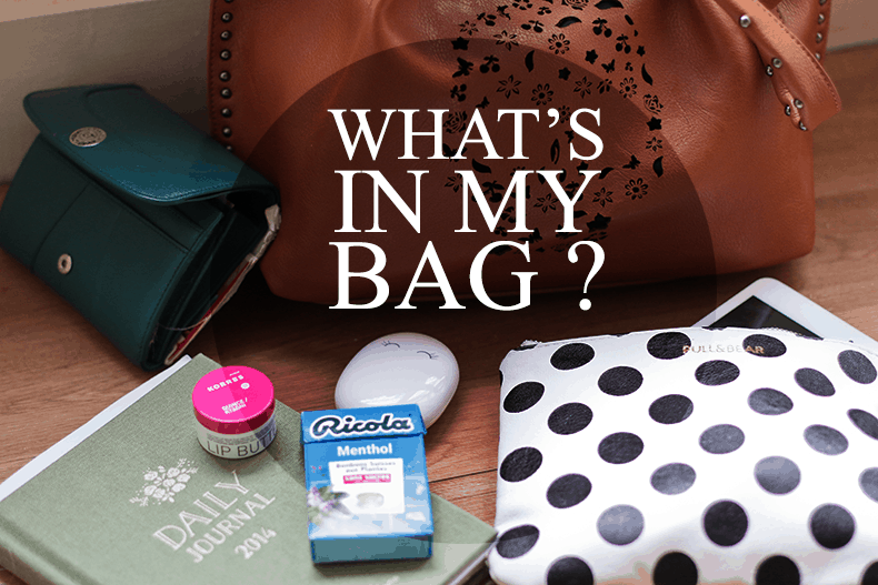 What's in my bag #2