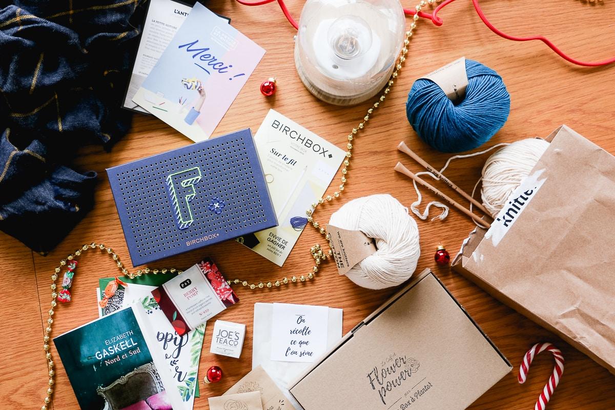 Idées de Box à offrir pour Noël