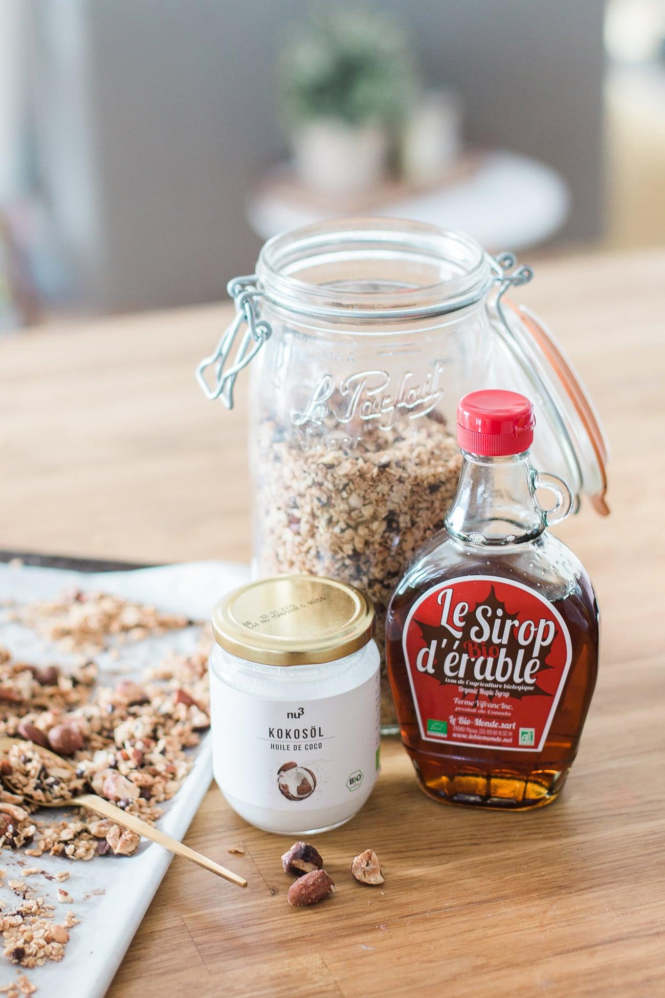 Granola homemade & vegan