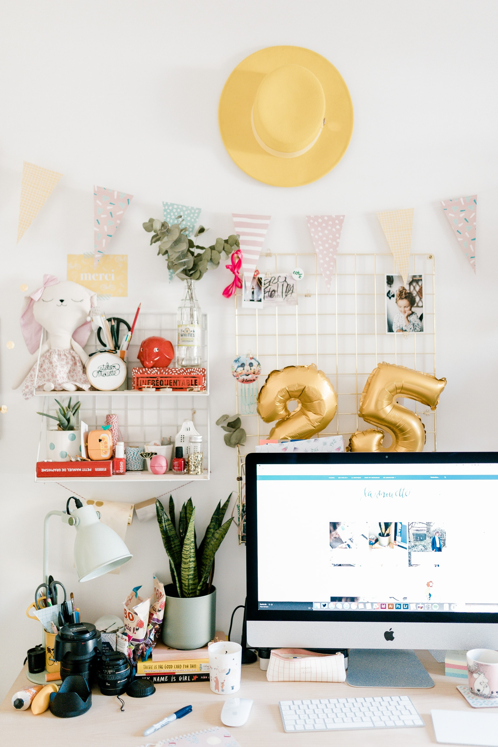 Relooker Une Piece Bureau décoration : dans mon bureau - la mouette   blog lifestyle